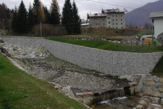 Sistemazione spondale a Forni di Sopra (Ud)
